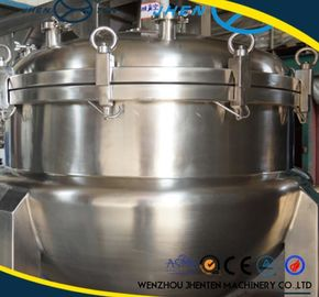 China chaleira Jacketed do vapor 500L de aço inoxidável com o CE do agitador aprovado fábrica
